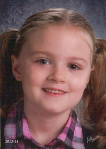 Lucy, 1st Grade, 2012