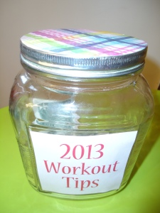 My Workout Tip Jar