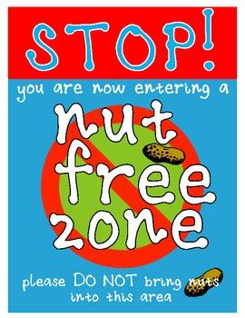 Nut free zone!