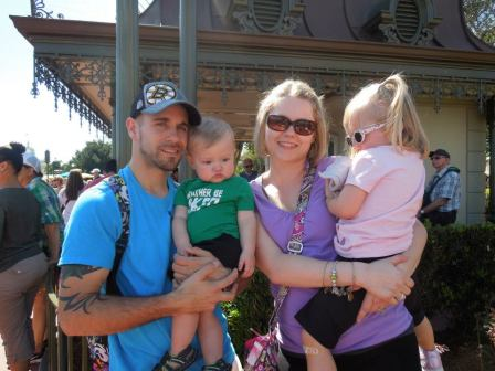 At Magic Kingdom