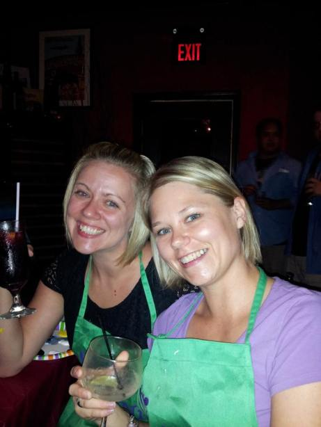 Tanya and I
