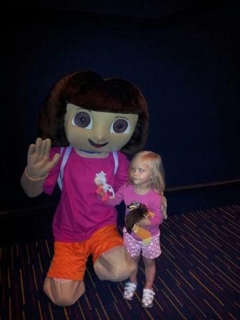 Meeting Dora!