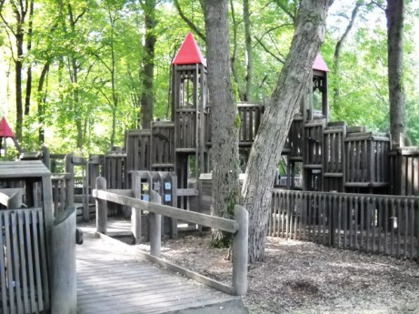 he Whitman wooden playground was amazing and looked a lot like this!! Sadly, I couldn't find an actual picture of it!