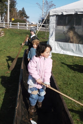 Wampanoag canoe