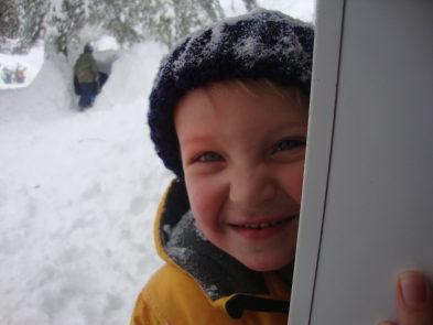 Snow kid