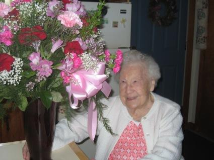 Frances Gonski 100 yr and spring 2014 003