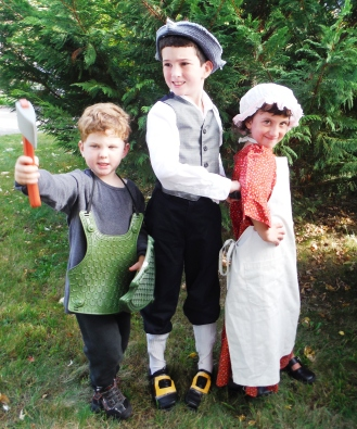 Martianne's Kids on Halloween
