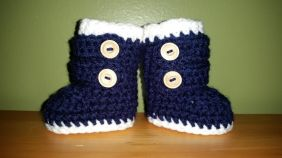 Baby booties. So adorable!