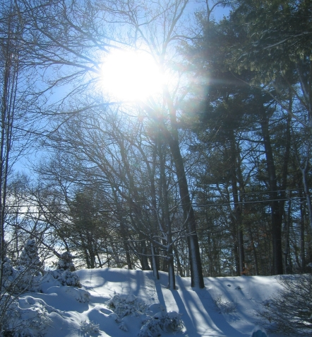 sun on snow NATURE GIFTS MOMMYBLOG SIGNATURE HEALTHCARE DEC 2018