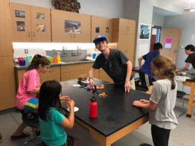 STEAM July 2019 for Friday hovercraft Tim with kids.jpg