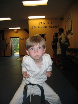 Timmy karate super focus blue belt.JPG